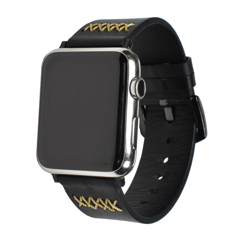 Leather pulsos band for Apple Watch 24