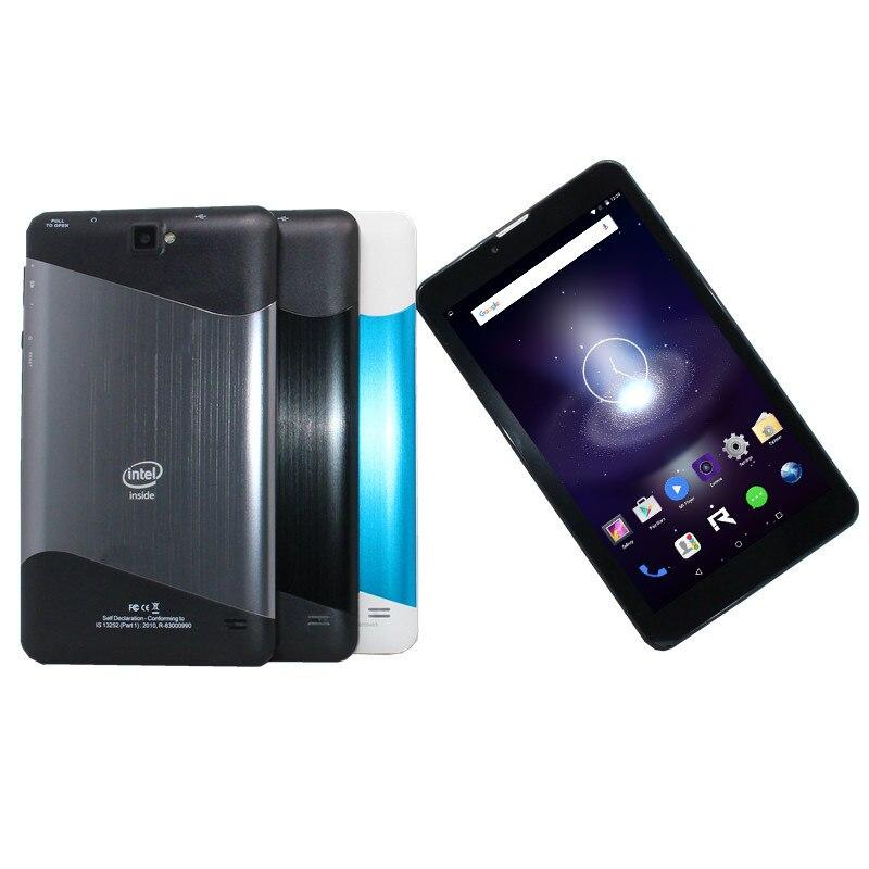 7inch TabletPCsupport 3G Phone Call Intel Atom Sofia 3GR  Quad Core Andriod 5.1 1+8GB  1024 X 600