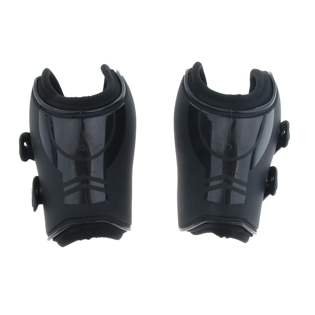 Equine Sports Horse Jumping Leg Protection Tendon And Fetlock Support Boots Set, Adjustable