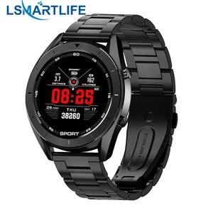 Image 1 - DT99 Bluetooth Smart Uhr Männer EKG Erkennung IP68 Wasserdicht Mehrere Heißer Verkauf Zifferblatt Fitness Tracker Lange Lebensdauer der Batterie VS DT98