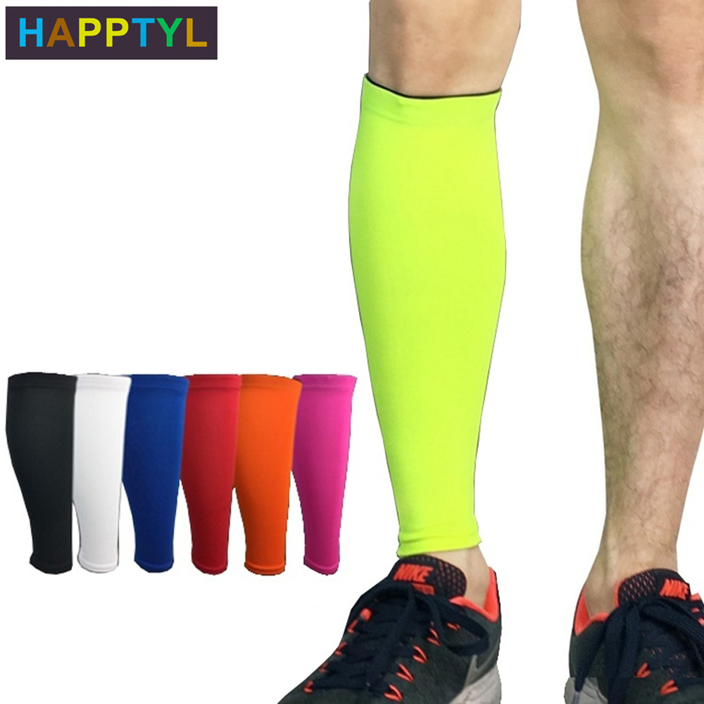 HAPPTYL 1Pcs Calf Compression Sleeve - Leg Compression Socks For Shin Splint, Calf Pain Relief - Men, Women, And Runners