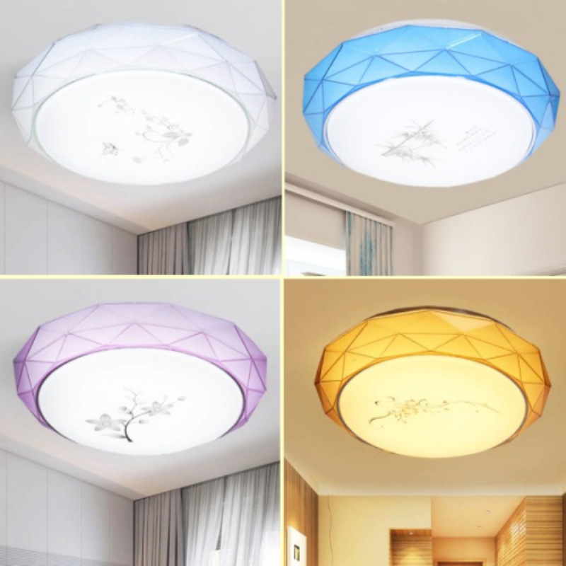 LED מסדרון אורות תקרת מעגל מנורת מודרני מינימליסטי חדר שינה סלון מסדרון אורות מרפסת מטבח מנורת תאורת מנורות