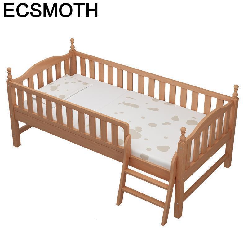 Mobili Wooden Meble Chambre Kids Crib Nest Louis Litera Yatak Wood Lit Enfant Bedroom Cama Infantil Muebles Baby Furniture Bed