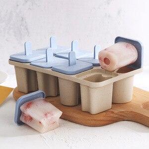 8 пресс-форм, форма для мороженого, форма для Фруктового мороженого DIY