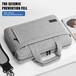 Capa protetora para laptop, bolsa de ombro, hp, estojo de transporte para macbook air, asus, lenovo, pro13 14, 15.6 polegadas bolsa de mão dell