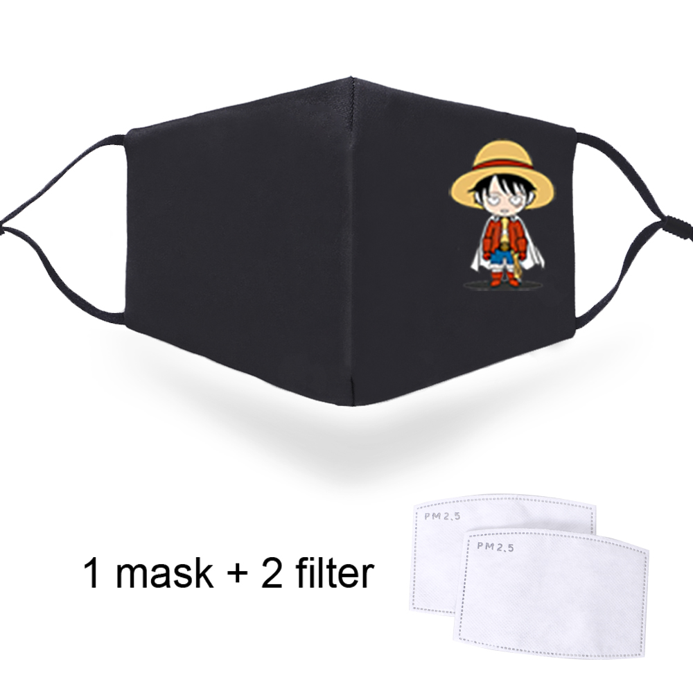 One Piece Mouth Muffle Respirator 2020 Mask Washable Resuable Masque Breath Fashion Masks Men Women Protective PM2.5 Filter Mask