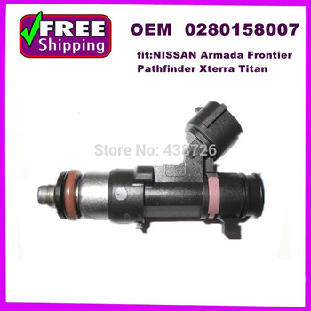 OEM N16600-7S000  0280158007  injector fuel injection nozzle for  2010-04  for QX56 Titan  for  Pathfinder