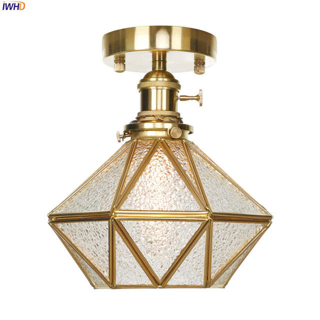 Iwhd Led Modern Copper Ceiling Light