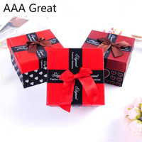 48Pcs/Lot Box Wedding Favor Gift Box Sweet Paper Christmas Decoration Baby Earrings Necklace Event Party Supplies Birthday Boxes