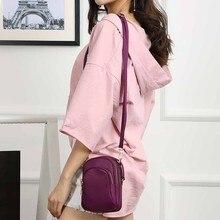 Nylon Crossbody Bag For Women Small Cross-Body Mobile Phone Shoulder Mini And Cards