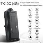 TK10C 4G gps tracker con impermeabile per il veicolo 10000MAH navigatore gps in tempo reale di gps per auto tracker lungo periodo di tempo standby gps tracker