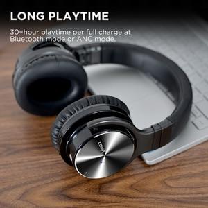 Image 4 - 共同受賞E7 pro [アップグレード] アクティブノイズキャンセルbluetoothヘッドセット耳重低音ワイヤレスヘッドセットハイファイサウンドハンズフリー