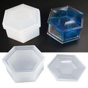 DIY Hexagon Storage Box Mold C