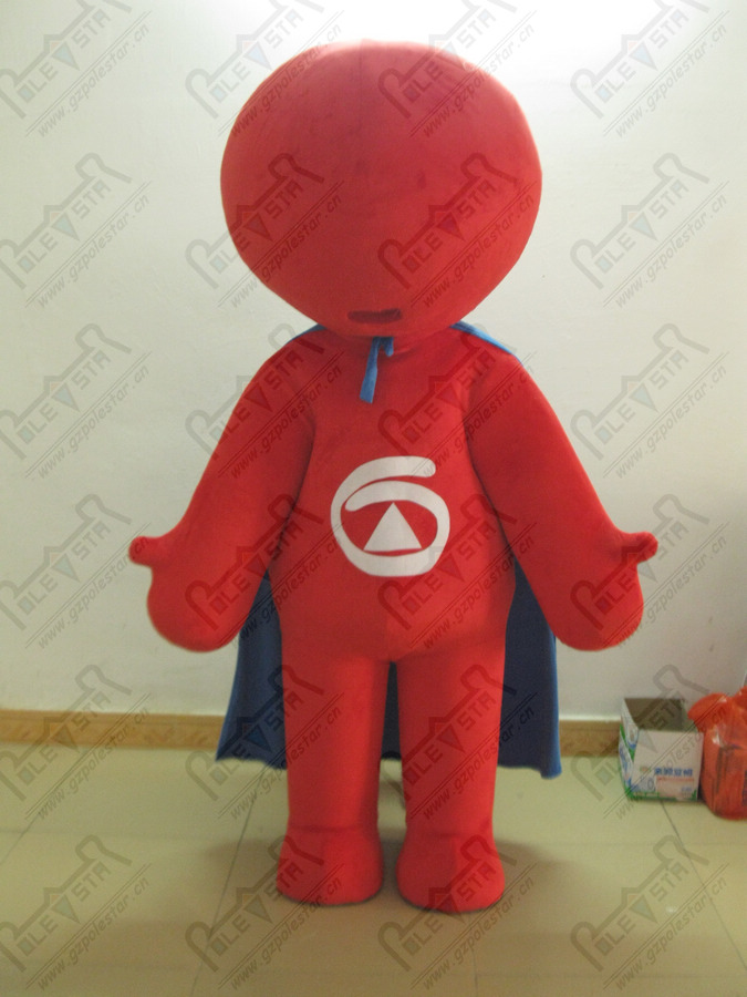 quality red round Speakers mascot costumes professional costumes design OEM party costumes