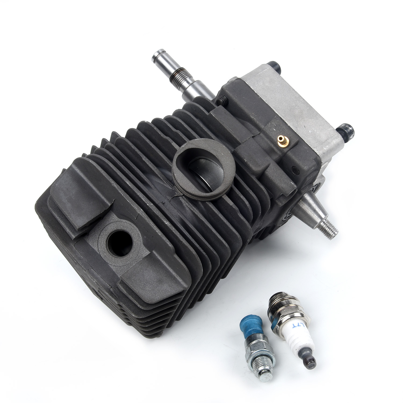 Cilindro pistón cigüeñal Motor para STIHL MS390/MS310 1127 020 1216 pieza