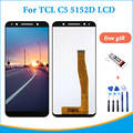 Высококачественный ЖК-дисплей 5,5 дюйма для TCL C5 5152D, сенсорный экран, дигитайзер в сборе с инструментами + клей