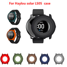 Protector Bumper Watch Frame Case Cover For Xiaomi Haylou Solar LS05 Smart Watch TPU Silicone Protector Frame Soft Protect Shell(China)