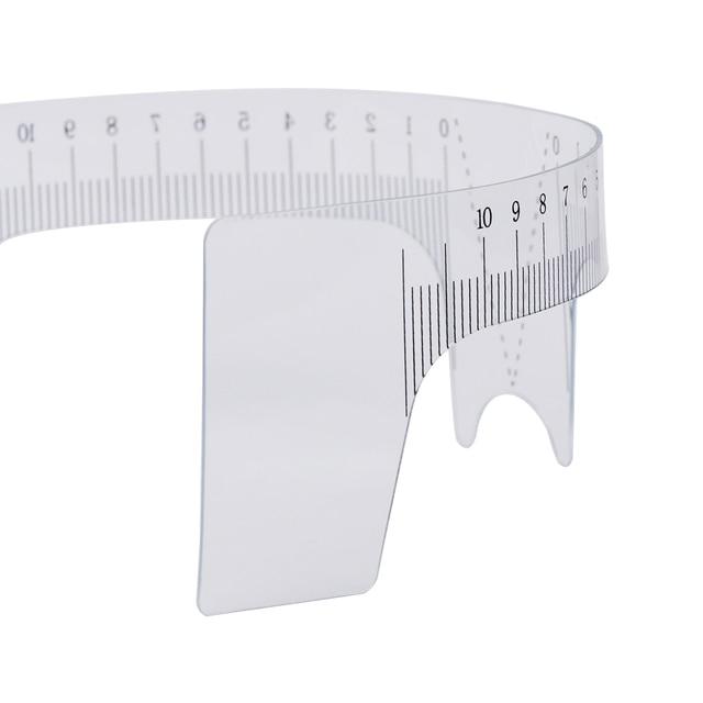 10PCS Reusable Semi Permanent Eyebrow Ruler Eye Brow Measure Tool Eyebrow Guide Ruler Microblading Calliper Stencil Makeup Tools 2