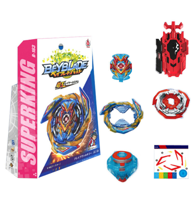 Beyblade Burst SuperKing Booster B-163 Brave Valkyrie.Ev' 2A B163 With Box