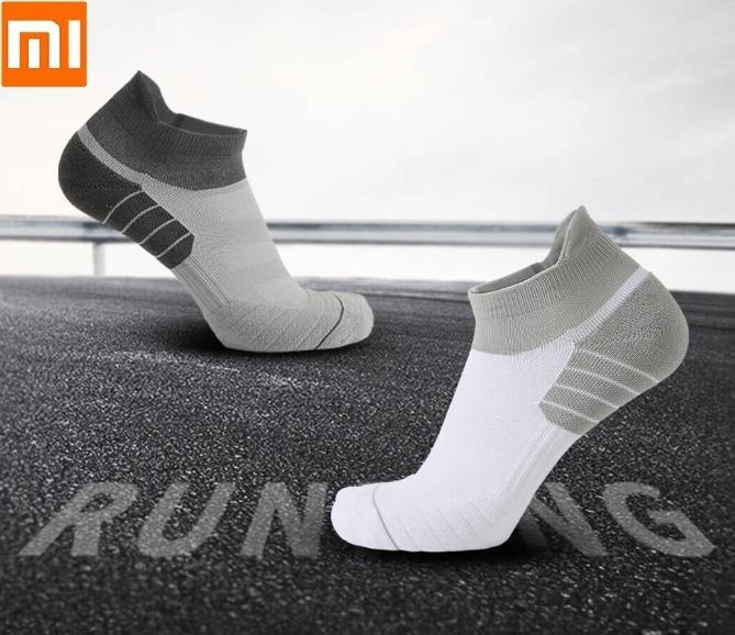 Youpin UG Man Outdoor Sports Socks Damping 3D Air Guide Design Male Multifunctional Fitness Running Socks