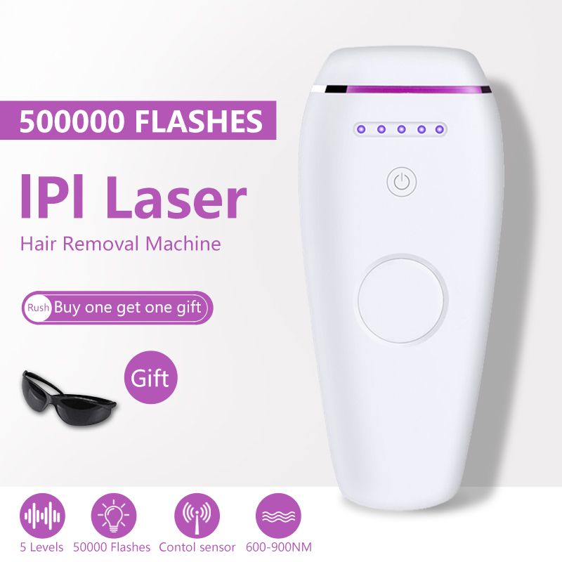 500000 Flashes Laser Depilator IPL Epilator Permanent Hair Removal Touch Body Leg Bikini Trimmer Photoepilator For Women