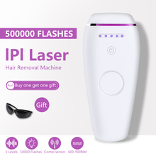 500000 Flashes Laser Depilator IPL Epilator Permanent Hair Removal Touch Body Leg Bikini Trimmer Photoepilator For Women