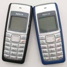 1112 разблокированный Nokia 1112 700 мАч 2G GSM Восстановленный сенсорный телефон один год гарантии Восстановленный