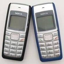 Nokia 1112 remodelado-original desbloqueado nokia 1112 700mah 2g gsm telefone touchscreen remodelado um ano de garantia remodelado
