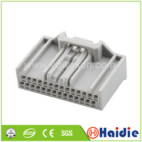 O envio gratuito de 2 conjuntos 28pin auto plugue da caixa elétrica cablagem plástico unsealed conector mx34028sf1
