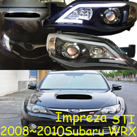 2008~2010y car bupmer head light for Subaru Impreza headlight WRX STI car accessories LED DRL fog for Impreza WRX headlamp