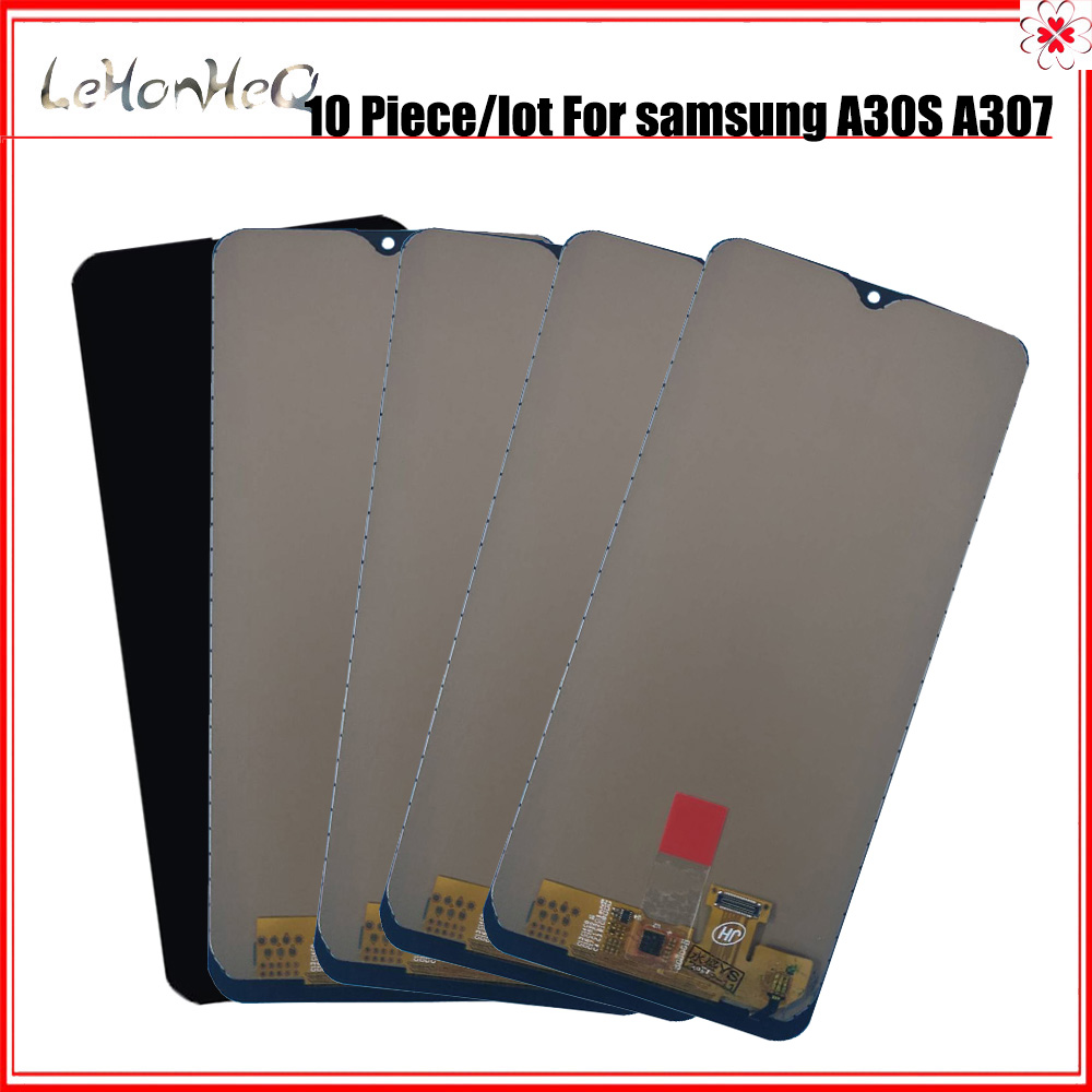10 piece/lot TFT <font><b>LCD</b></font> For <font><b>samsung</b></font> <font><b>galaxy</b></font> <font><b>A30S</b></font> A307 A307F A307FN/DS <font><b>LCD</b></font> Display Touch Screen Digitizer Assembly image
