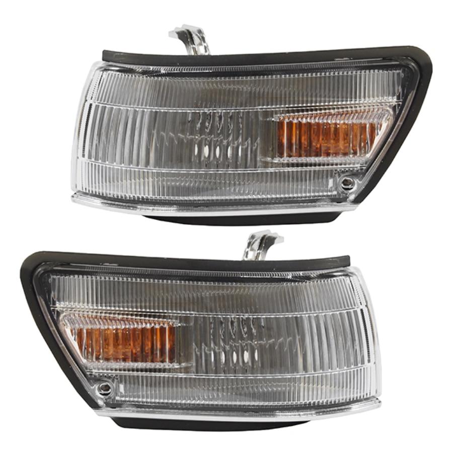 Takviyeli ön dönüş sinyal ışığı Corrner Toyota SPRINTER CARIB AE95 AE114 1989 1990 1991 1992 1993 1994 1995 1996 1999