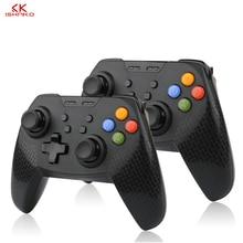 K ISHAKO 10pcs Wireless Bluetooth Remote Gamepad Pro Controller Joypad for Nintend Switch Console Gamepads Joystick