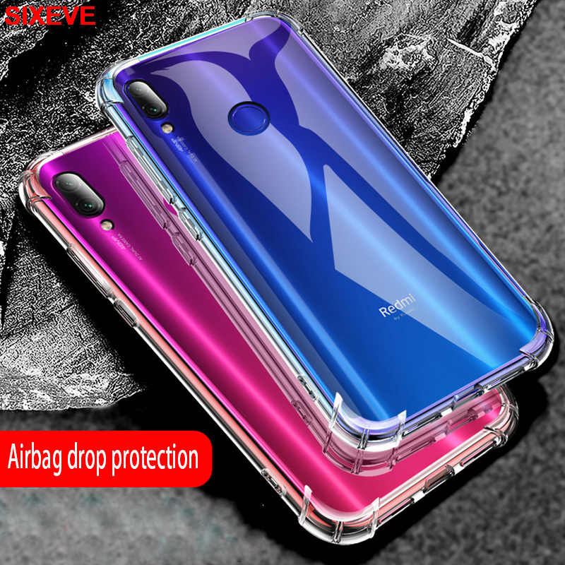 TPU Silicon DROP Proof Phone Case untuk Xiaomi Redmi 4A 4X 5A 5 Plus 6 Pro 6A S2 Redmi Note 4 3 Pro 5 6 Mi 8 9 Lite Se Clear Cover