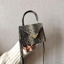 Textured small bag girl 2021 spring new crocodile-print small square bag hundred shoulder stiletto bag