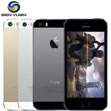 """Разблокированный мобильный телефон Apple iPhone 5S 4G LTE 4,"""" A7 двухъядерный IOS 3g wifi 8MP gps сотовый телефон"""