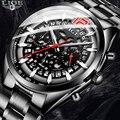 Relogio masculino 2019 Neue Top Marke LIGE männer Uhren Einzigartige Stil Quarz Männer Mode Kühle Hohl Designer Sanfte uhr