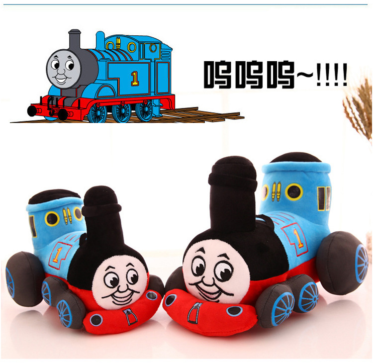 Stuffed Thomas And Friends Plush Toys For Children Vehicle Educational Toy Thomas Trains Cotton Stuffed Birthday Kids Gift Dolls