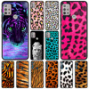 Case For moto One Fusion G30 G9 Play G8 Power Lite Plus G10 E6s Edge 20 Pro G30 G40 Fusion G60 Capa Tiger Leopard Print Panther