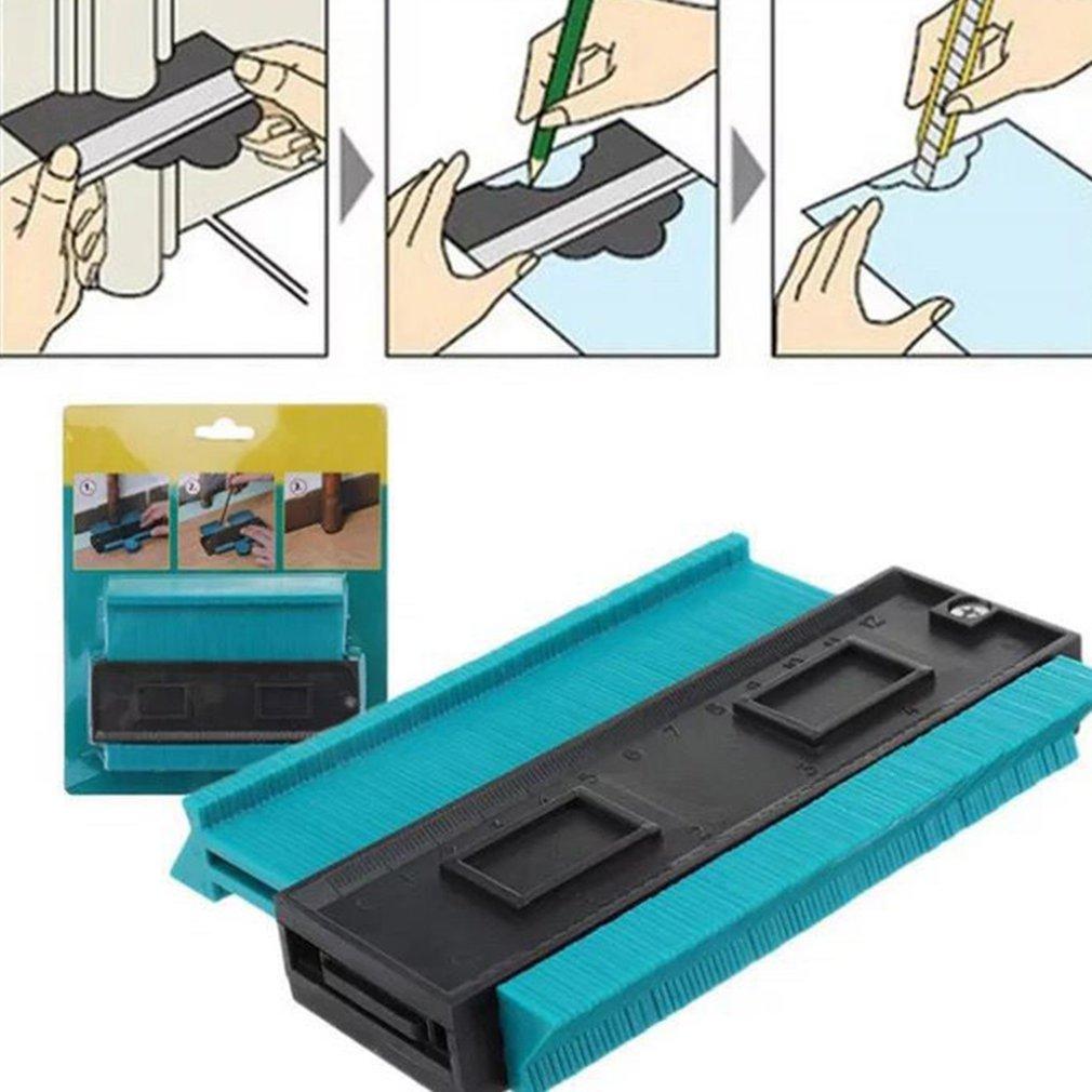 ABS Plastic Stable Irregular Shape Profile Ruler Gauge Durable Measure Irregular Shape Items Irregular Profile Gauge Measur Tool
