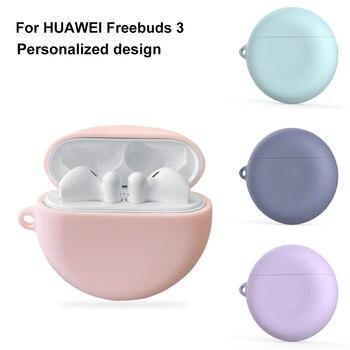 Auriculares de silicona casos para Huawei FreeBuds 3 libre Buds 3 FreeBuds3 auricular inalámbrico Bluetooth suave caso a prueba de golpes a prueba