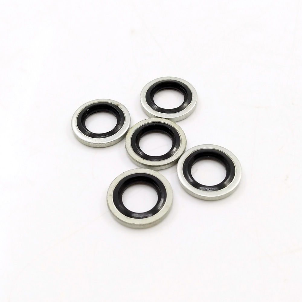 """5pcs 1/8"""" BSPP/M8/M10 Bonded Seals for PCP Air Rifle Charging Filling Hose Pump Connections-in Paintball Accessories from Sports & Entertainment"""