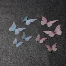 Breloques en forme d'aile de papillon pour fabrication de boucles d'oreilles, accessoires pour fabrication de bijoux artisanaux, 10/20 pièces