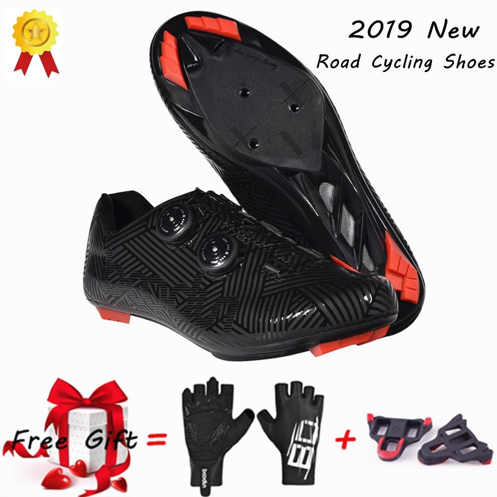 Новинка 2019, обувь для велоспорта, Ультралегкая, противоскользящая, износостойкая, профессиональная, самоблокирующаяся обувь, обувь для спорта на открытом воздухе, велосипедная обувь