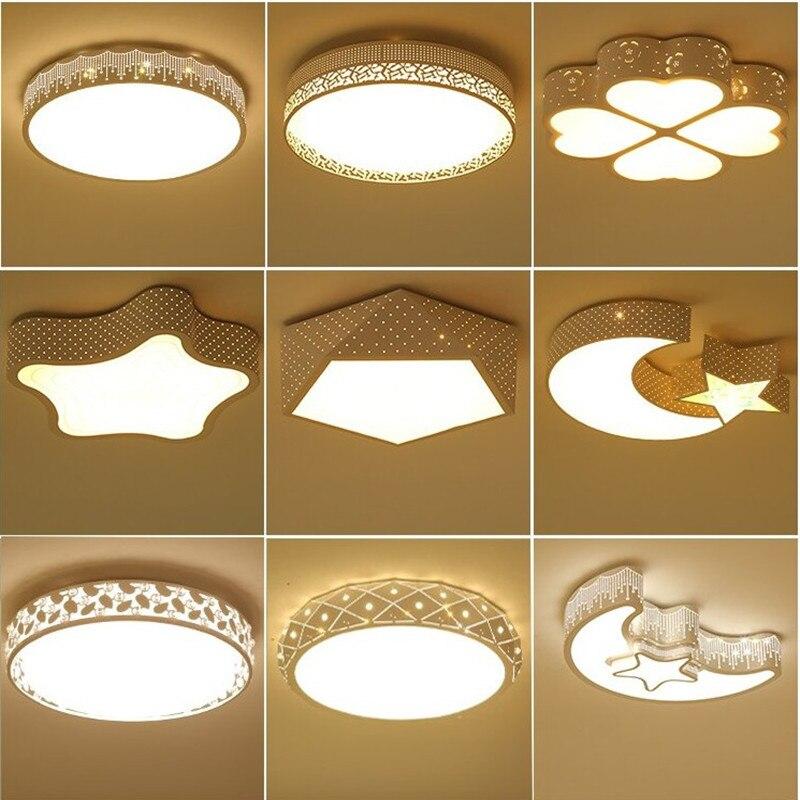 LED Ceiling Lamp Circle Romantic Master Bedroom Lamp Special Shape CHILDREN'S Room Lamp Modern Minimalist Living Room Lamps Rest