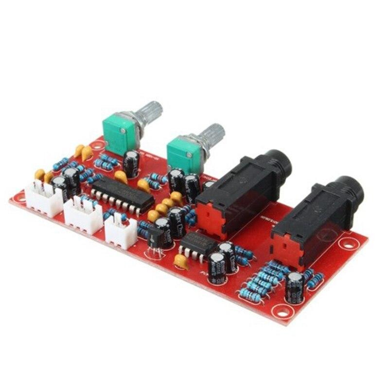 Pt2399 ne5532 placa de amplificador de microfone