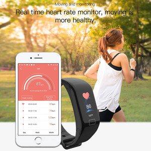 Image 5 - F1 Plus Smart Band Blood Pressure Waterproof Color Screen Sports Bracelet Heart Rate Monitor Wristband