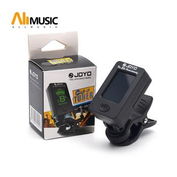 LCD prisegamas gitaros derintuvas boso derintojas smuiko derintuvas ukuele chromatinis universalus 360 laipsnių pasukamas jautrus