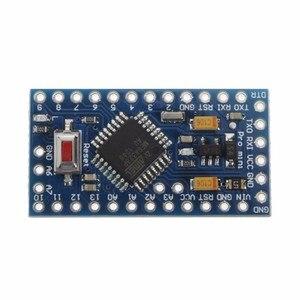 Image 4 - 2 pces leory mini atmega328 328p 5 v 16 mhz para arduino compatível pro placa do módulo
