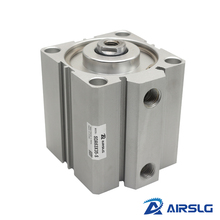 цена на SDA40 AIRTAC Type air pneumatic cylinder double acting compact cylinder SDA40 Bore 40 mm stroke 5 - 100 mm female /male thread